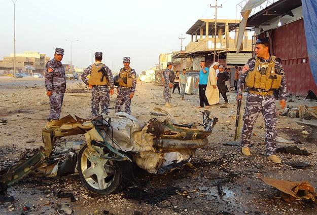 Irakta 20 Ayrı Bombalı Saldırı: 58 Ölü