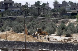 Mısır Cuntasından Gazze Sınırına Tampon