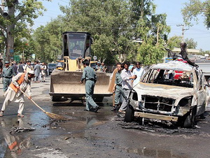 Afganistan'da Amerikan Üssüne Saldırı