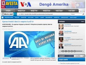 Kürt Medyasında AAnın Kürtçe Yayını