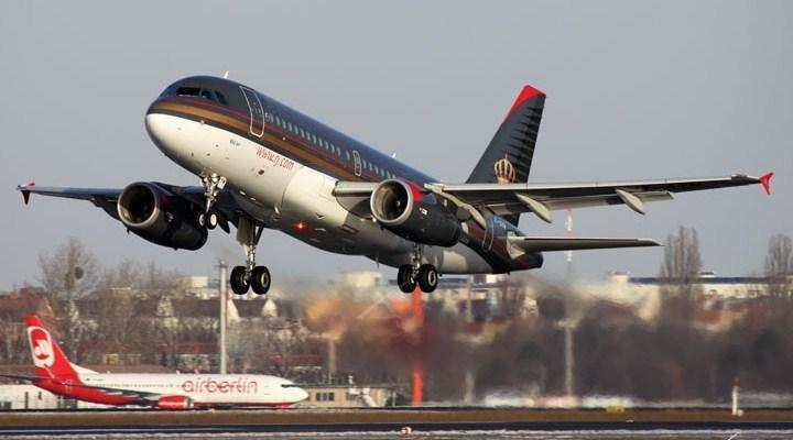 Ürdün Havayollarına Ait Uçak Rehin Alındı