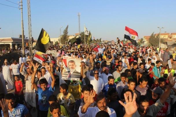 Mısırda Asıl Terör Darbedir Gösterileri (FOTO)