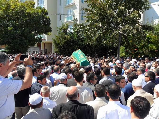 Güzeyya Bingöl Uçar'ın Cenazesi Defnedildi
