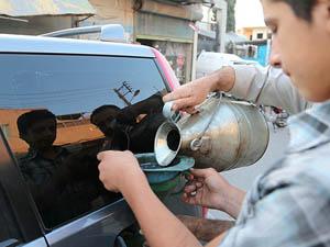 Suriyede Muhalifler Benzini Kendileri Üretiyor