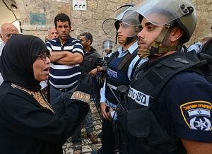 Mescid-i Aksa'da Polis Müdahalesi