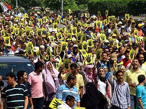 Mısırda Darbe Karşıtları Gösterileri Sürüyor
