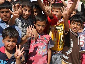 Kilis'te Halep'te ve Şemmare'de Suriyeli Yetimler