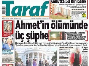 Ahmet Atakan'ın Ölümü Hakkında Yalana Devam!