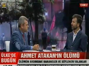Ülke TVde Ahmet Atakanın Ölümü Konuşuldu (VİDEO)