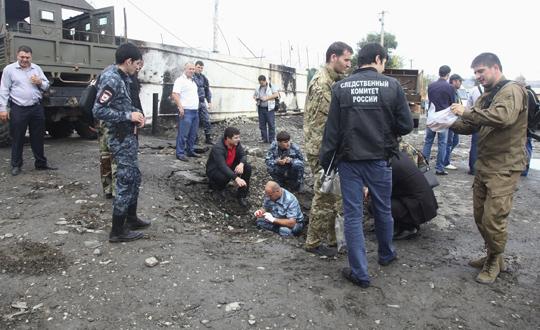 Çeçenistanda Bombalı Saldırı: 3 Ölü