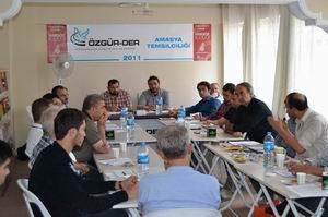 Amasya'da 2. Özgür-Der İştişare Toplantısı