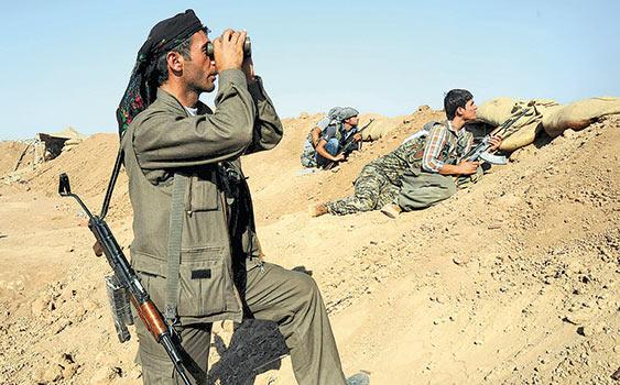 PYD, Ceylanpınar Sınırında Mevzileniyor