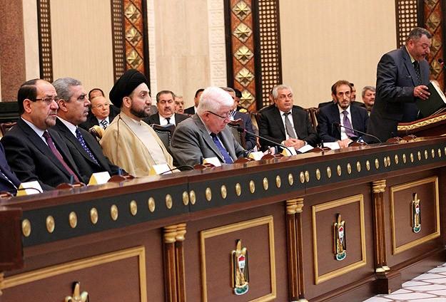 Irakta Siyasi Çözüm İçin İmzalar Atıldı