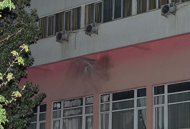 Ankarada Polisevine Roketli Saldırı