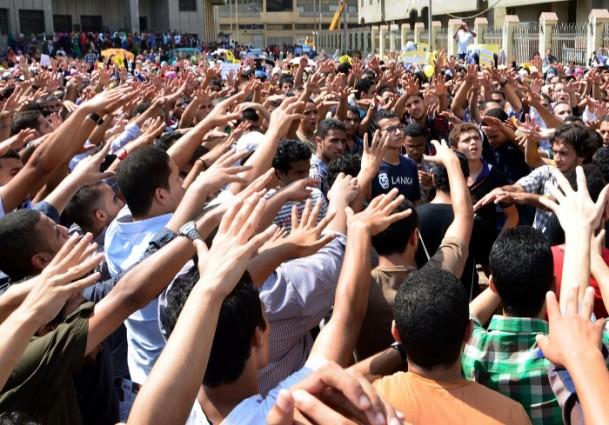 Öğrenciler Darbe Karşıtı Gösteri Düzenledi
