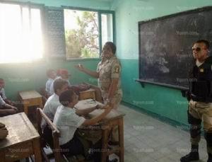 Mısır'da Okulun İlk Gününde Skandal