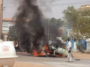 Sudan'da Akaryakıt Protestosu: 60 Ölü