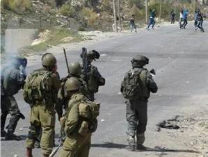 Batı Yaka'da Filistinliler İşgal Güçlerine Direniyor