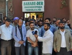 Sahabe-Der'e Yönelik Saldırı Protesto Edildi