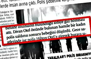 Gezi'ci Medyanın Yalanları Tek Tek Açıklandı