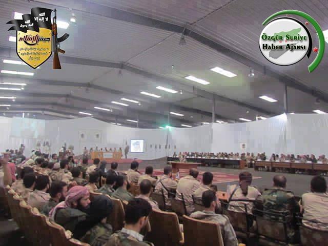 """43 Direniş Grubu """"Suriye İslam Ordusu Altında Birleşti"""
