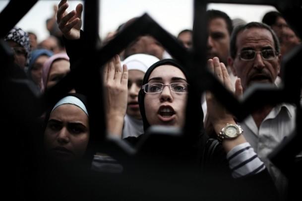 Filistinlilerden Refah Sınır Kapısında Eylem