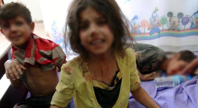 Şamda Çocuklar Açlıktan Ölüyor
