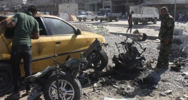Bağdat 13 Kez Bombayla Sarsıldı: 65 Ölü