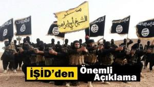 IŞİD, Hakkındaki İddialara Cevap Verdi!