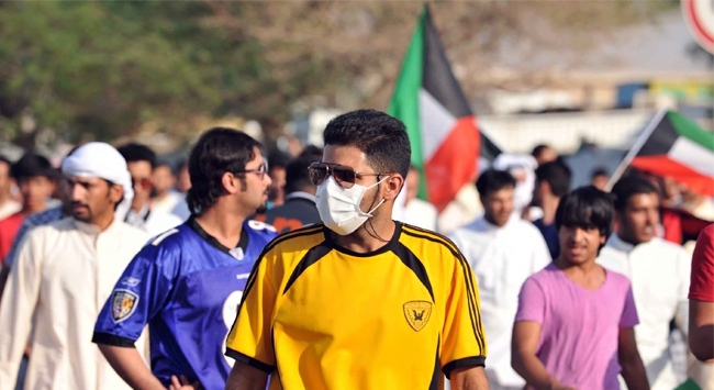 Kuveytte Vatandaşlık Protestosu