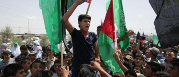 Gazze Halkı Kudüs İçin Yürüdü