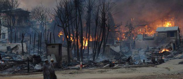 Budistlerden Müslüman Köyüne Baskın: 5 Ölü