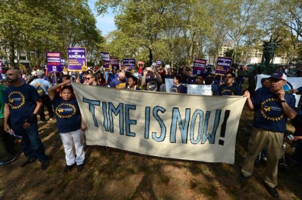 ABDde Göçmenler Reform İçin Gösteri Yaptı