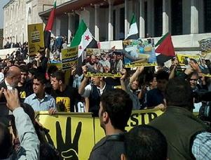 Mısır Darbesini Protesto Yürüyüşü Başladı