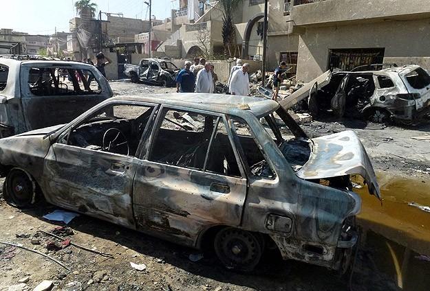 Bağdat'ta Canlı Bomba Saldırısı: 52 Ölü