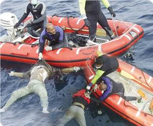 Filistinli Mültecileri Taşıyan Tekne Akdeniz'de Battı