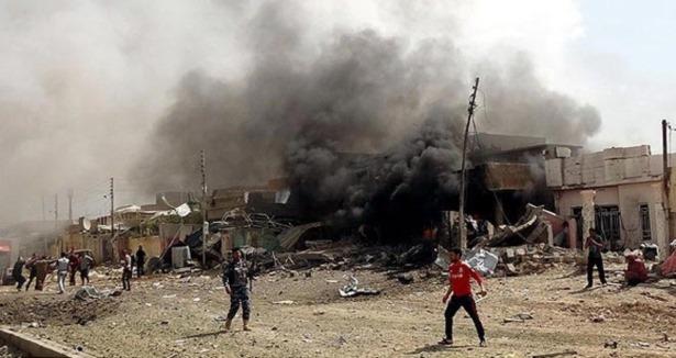 Irak'ta Cami Önünde Patlama: 11 Ölü