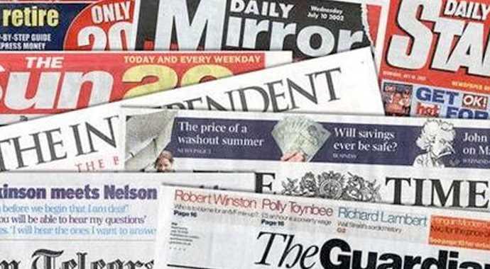Avrupa Gazetelerinde Darbeye Karşı Reklam Kampanyası