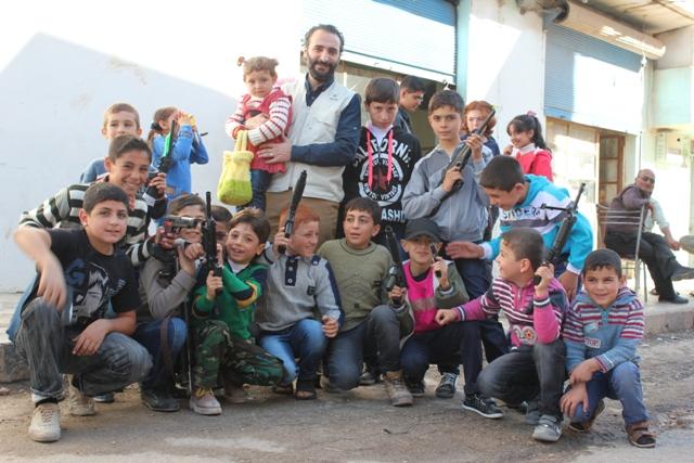 İmkan-Der Kurbanları Suriye'de Kesti