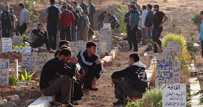 Suriye'de Kurban Bayramında 243 Kişi Katledildi