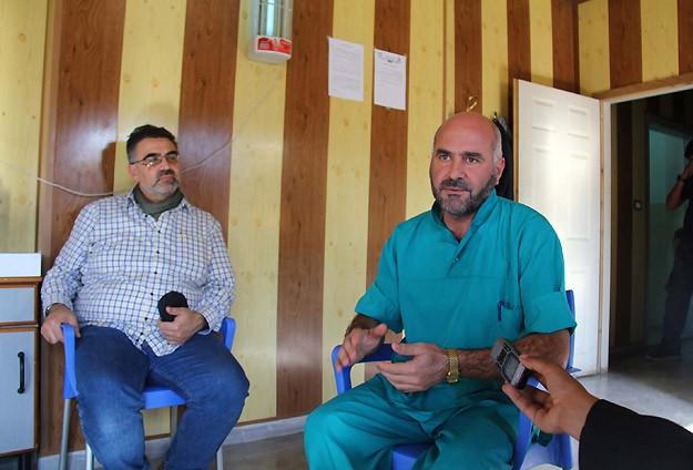 """Suriye'deki """"Savaşın Doktorları"""" Konuştu"""
