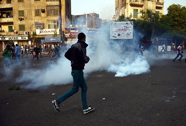 Mısır'da Gösteri Yapan Öğrencilere Müdahale