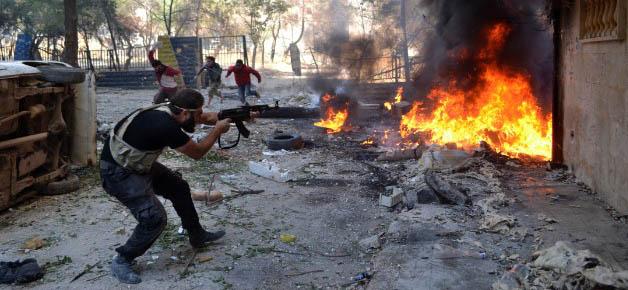 Suriye'de Muhalif 19 Grup Birleşti