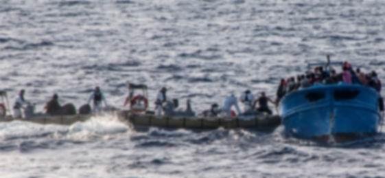 Suriyeli 400 Mülteci Akdeniz'de Ölüme Terk Edildi