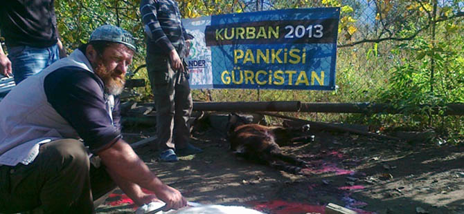 İmkander'den Muhacirlere Kurban Organizasyonu