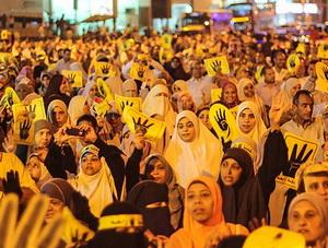 Mısır'da Darbe Karşıtlarının Gösterileri Sürüyor
