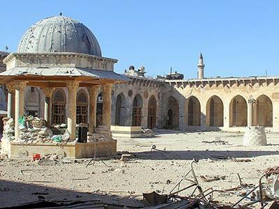 Suriye'de Tarih de Yok Oluyor