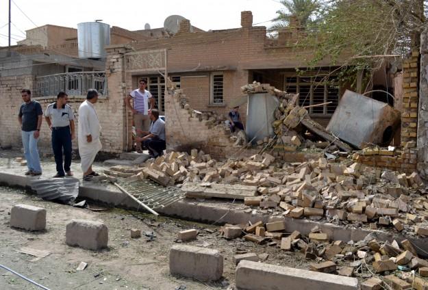 Irak'ta Sahve Güçlerine Canlı Bomba Saldırısı