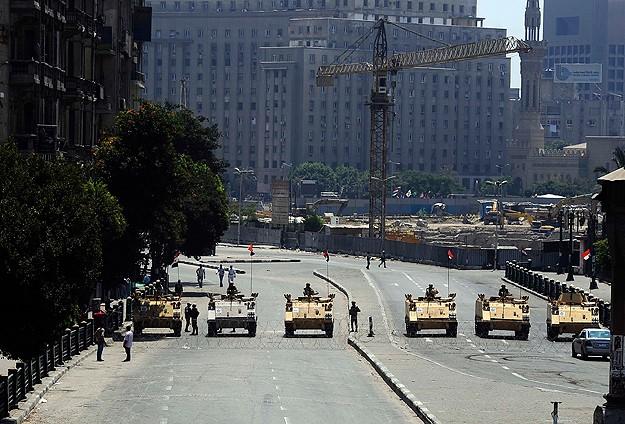 Tahrir Meydanı'na Açılan Tüm Yollar Kapalı