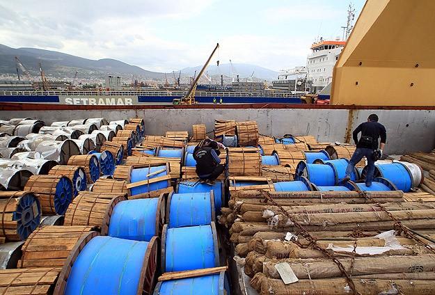 Suriye'ye Malzeme Taşıyan Gemiye Operasyon